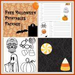 Halloween Printable Activity Package #Halloween