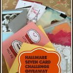 Sometimes Love is a Card – Hallmark Seven Card Challenge Giveaway #LoveHallmarkCa