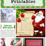 Five Fun Christmas Printables