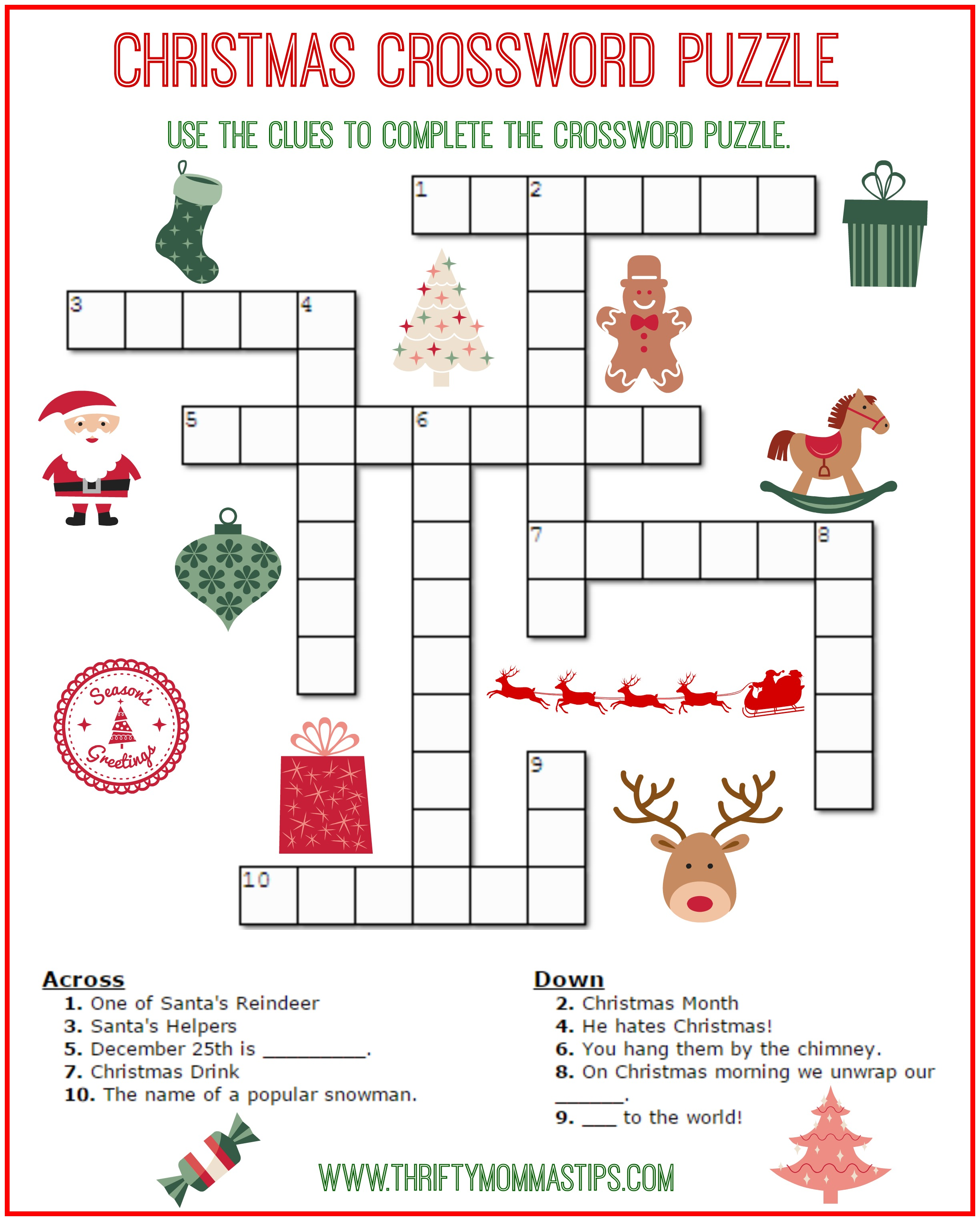 It's just a graphic of Simple Crossword Puzzles Printable with general knowledge