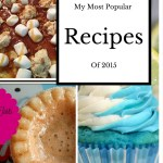 My Three Most Popular Dessert Recipes for 2015