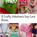 Eight Crafty Valentine's Day Card Boxes