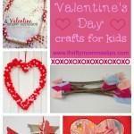 Five Cute Valentine Crafts for Kids