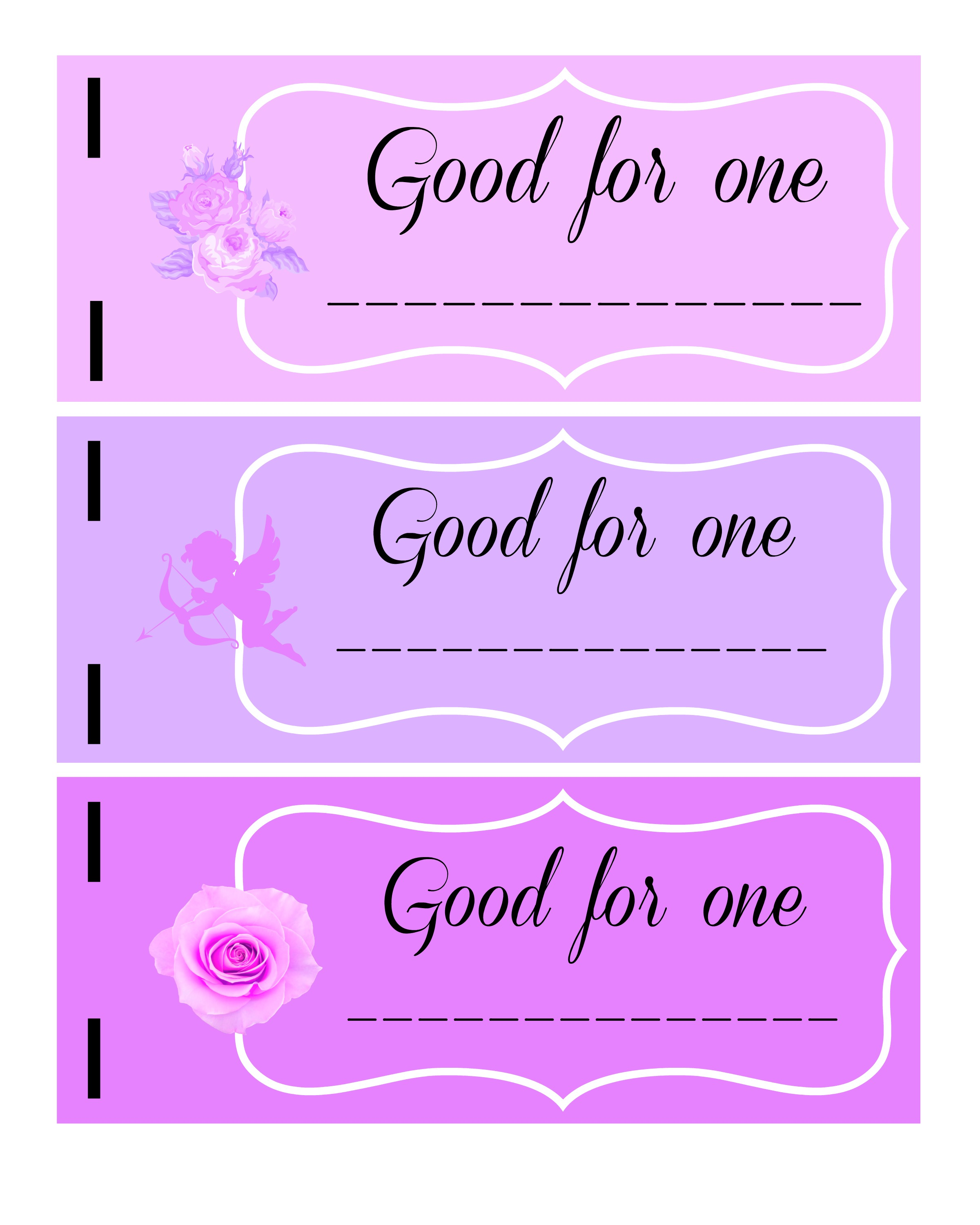 Valentine S Day Printable Coupon Book