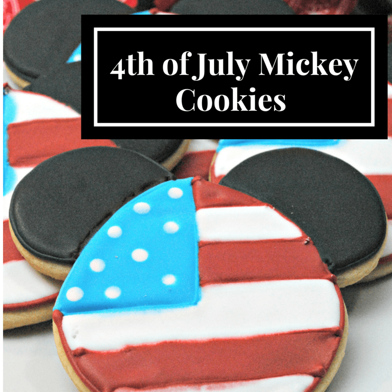 Mickey Cookies Recipe
