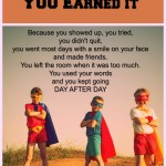Report Card for Superheroes #specialneeds