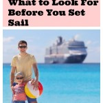 Cruise Booking – What to Look For Before You Set Sail #travel