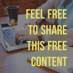 When Feel Free To Share and Free Content Means No Budget