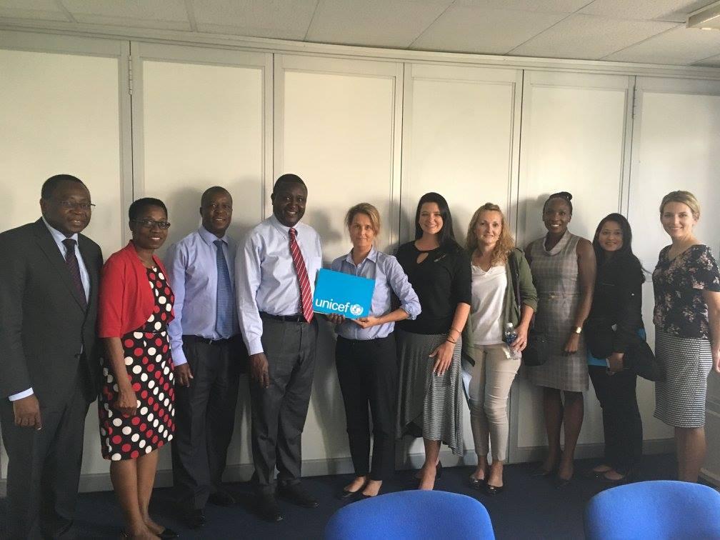 The group_of_us_at_UNICEF_Lusaka