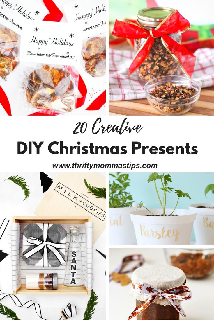 20 Creative DIY Christmas Presents - Thrifty Mommas Tips