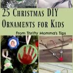 25 Christmas DIY Ornaments Kids Can Make