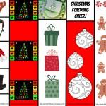 Christmas Bookmarks Printable