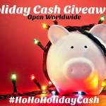 $400 US – Ho Ho Holiday Cash Giveaway #HoHoHolidayCash