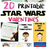 20 Printable Star Wars Valentines