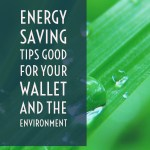 Energy Saving Tips Good for Your Wallet and the Environment