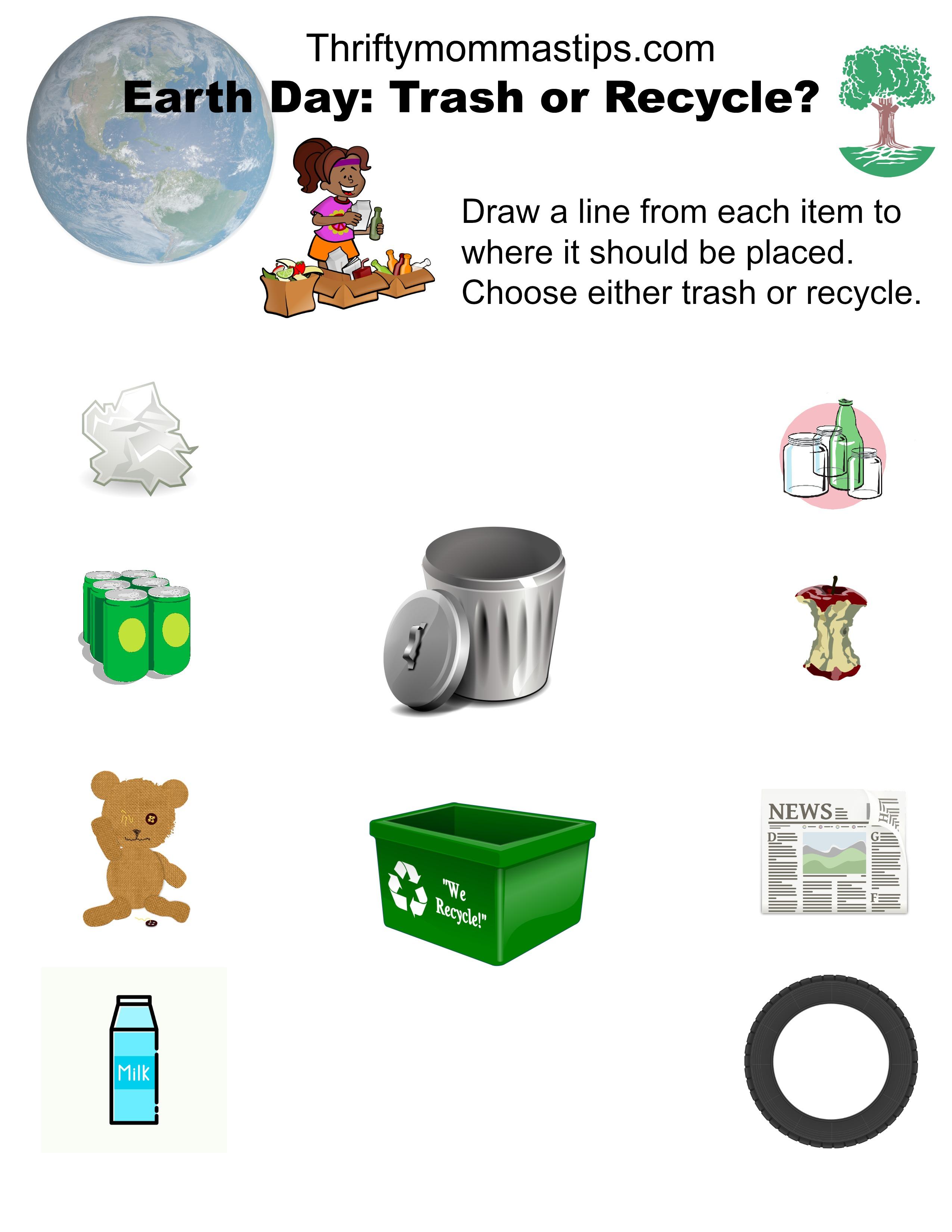 trash_or_recycle_printable