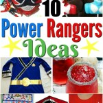 10 AWESOME Power Rangers Ideas – Crafts, Costumes and Recipes