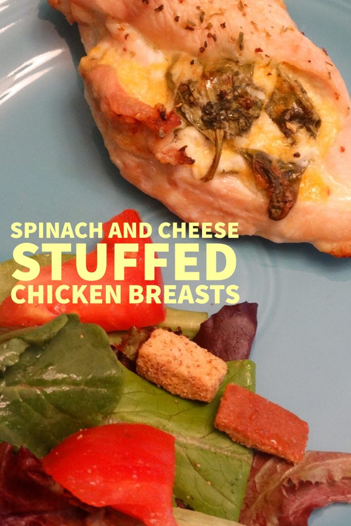Spinach and Cheese Stuffed Chicken Breasts