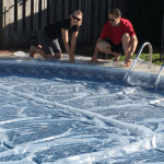 Solar Cover Tips – Keep Your Pool Clean and Toasty