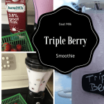 Goat Milk Triple Berry Smoothies for Back to School #BornOnTheFarm
