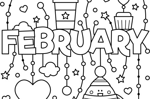 february_colouring_page