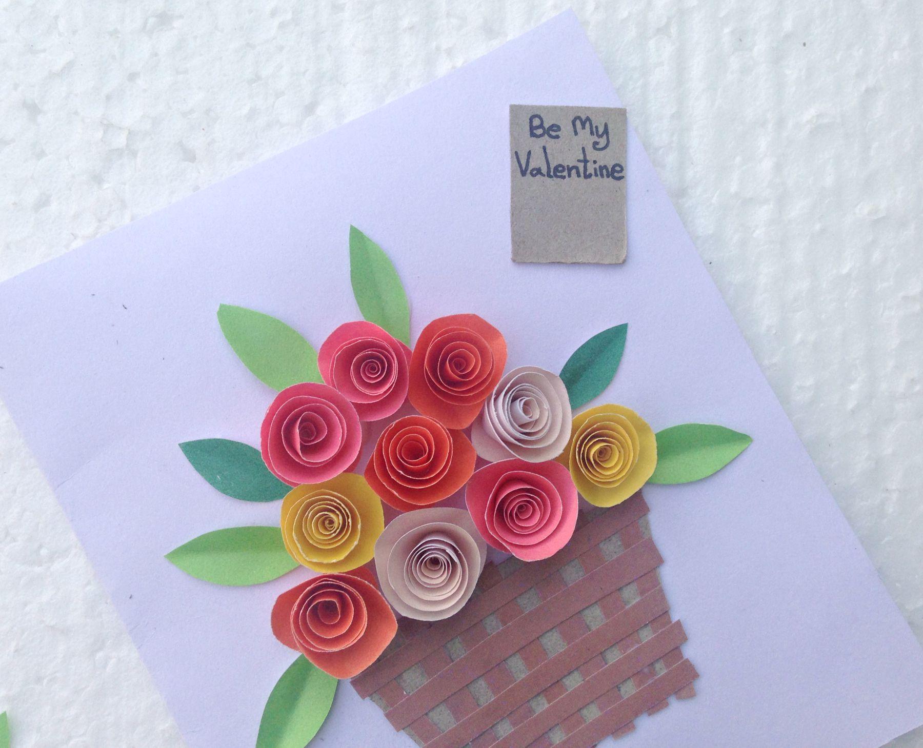 HOW TO MAKE 3D ORIGAMI FLOWER BASKET | DIY PAPER FLOWER BASKET ... | 1459x1800