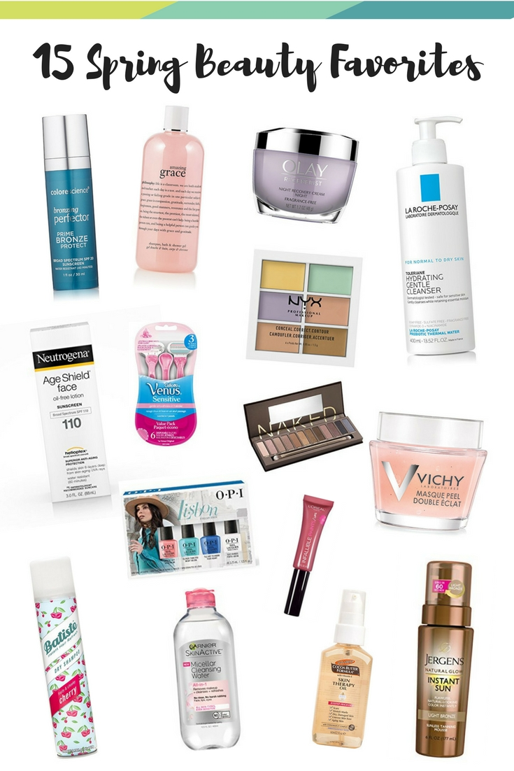 spring_beauty_favorites