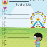 What's On Your List – Summer Bucket List Printable