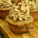 Best Ever Canadian Maple Bacon Cupcakes