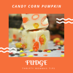 Decadent Candy Corn Fudge