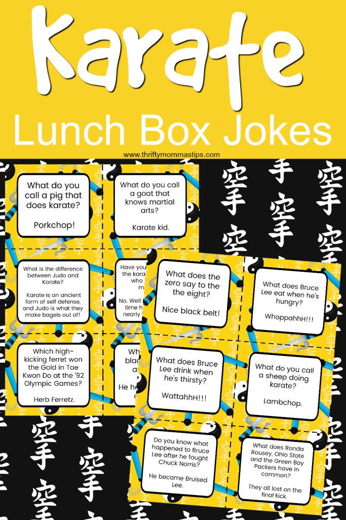 karate lunch box jokes