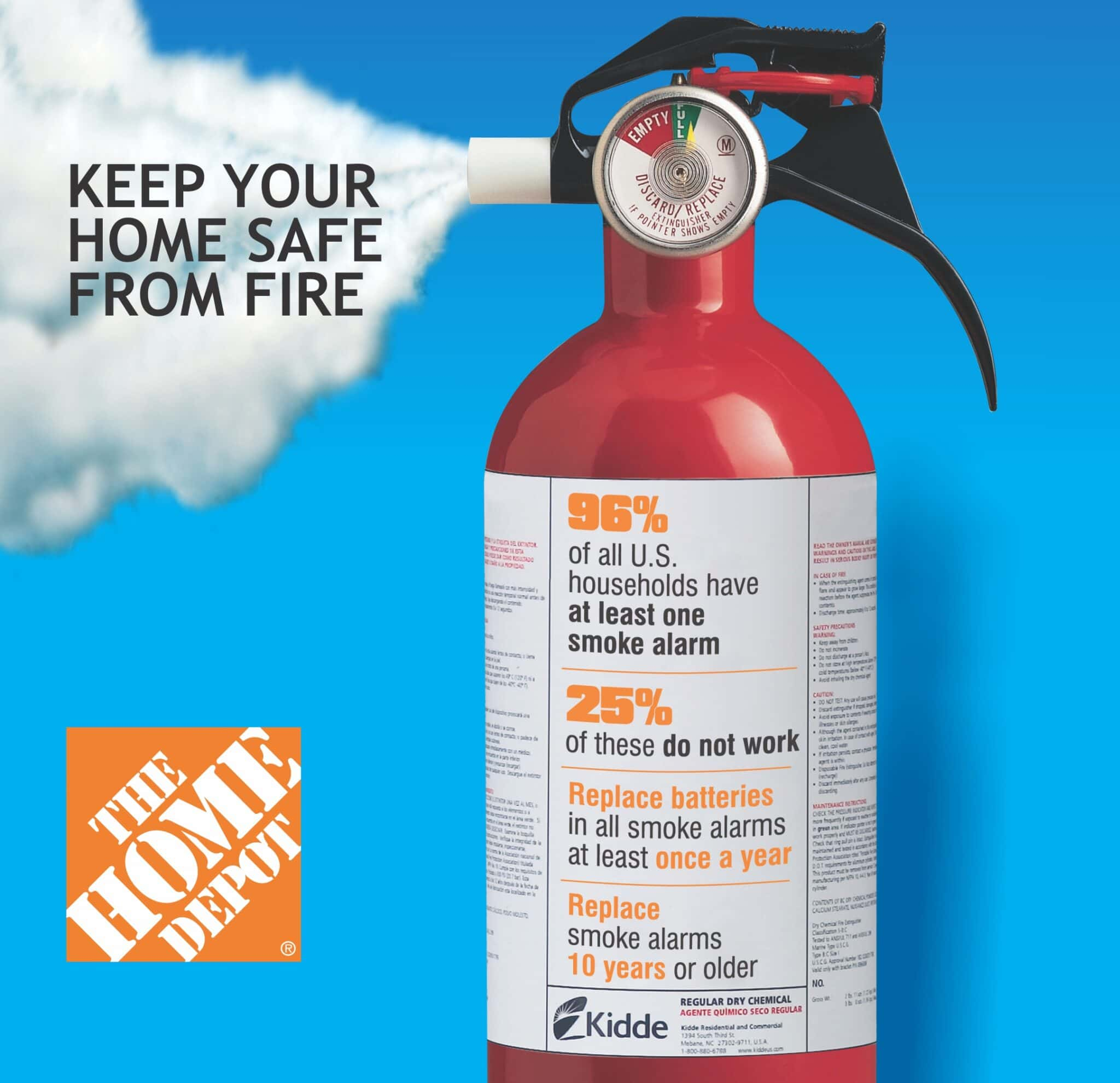 Home Depot Fire Safety Event