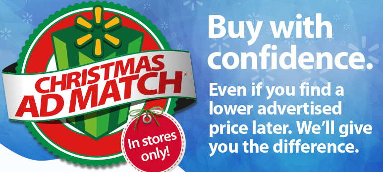 Walmart Christmas Walmart Ad Match Thrifty NW Mom
