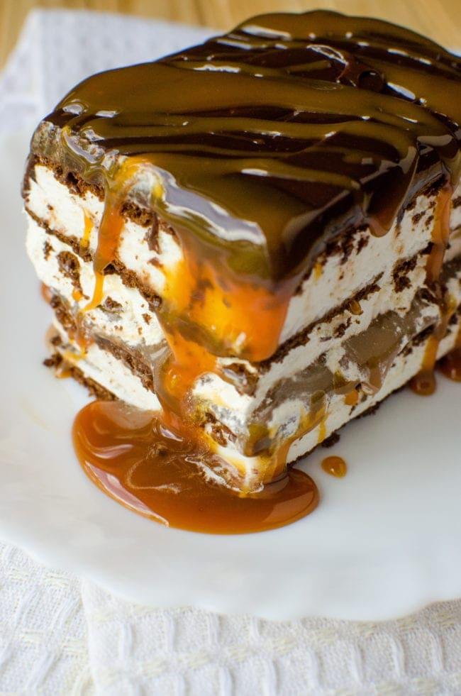 Salted Caramel Butter Cake