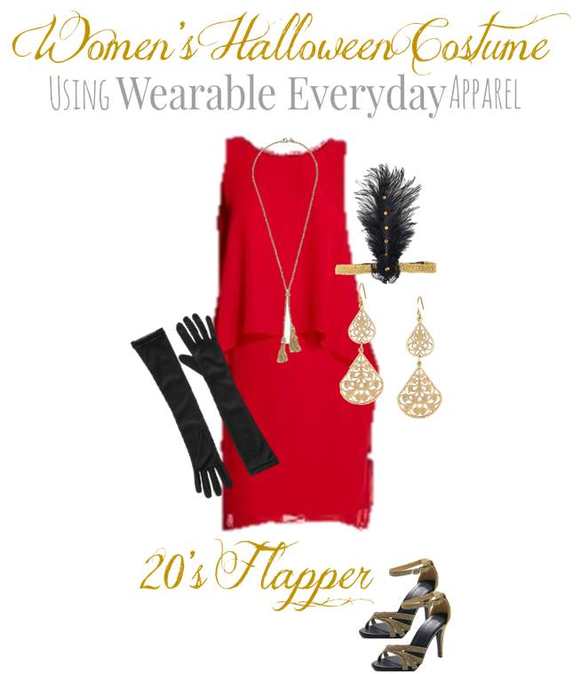 DIY Flapper Costume for Women - Using Clothes You Can Wear Again ...