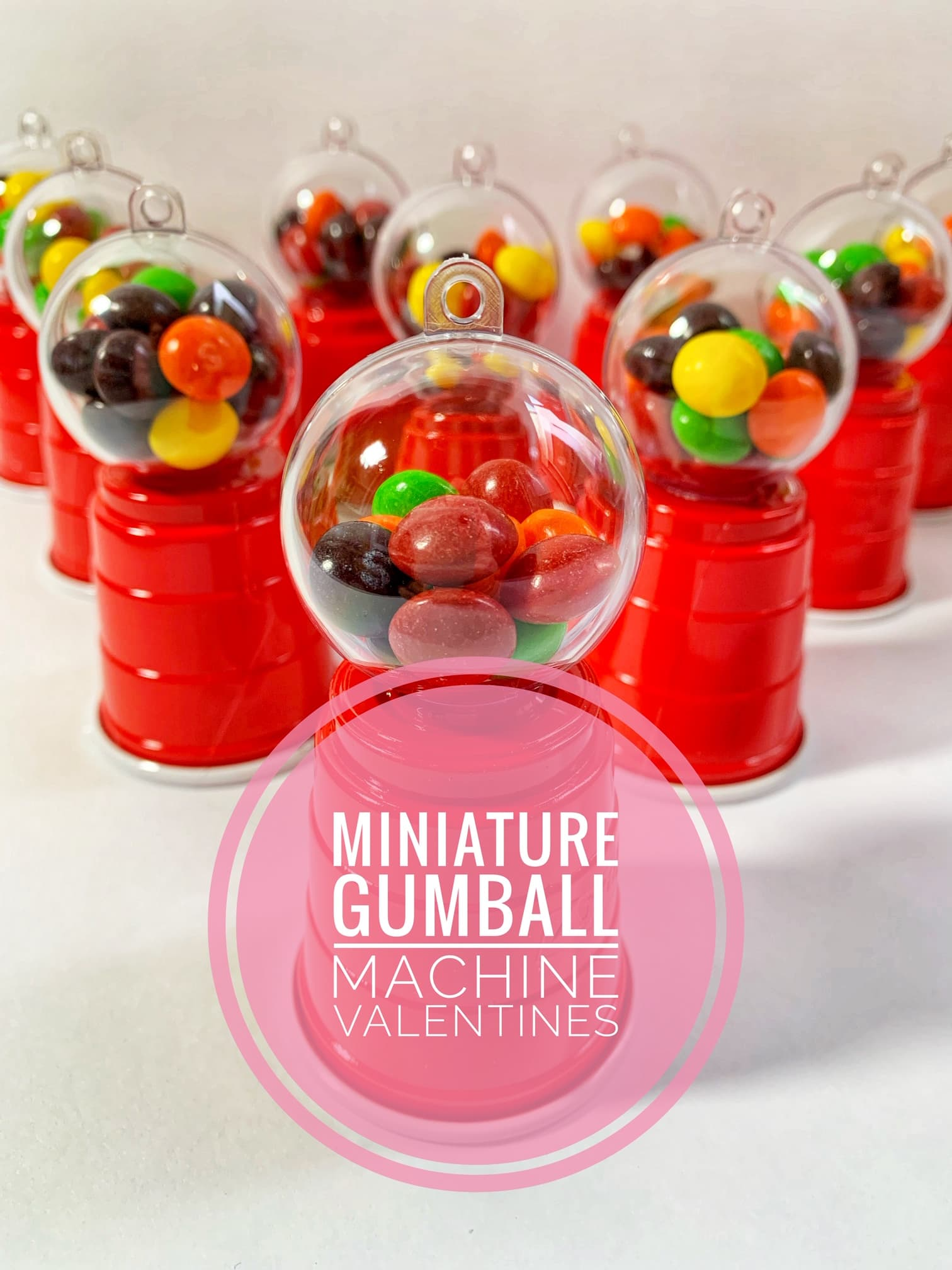 Diy Bubble Gum Machines Perfect For Valentines Parties