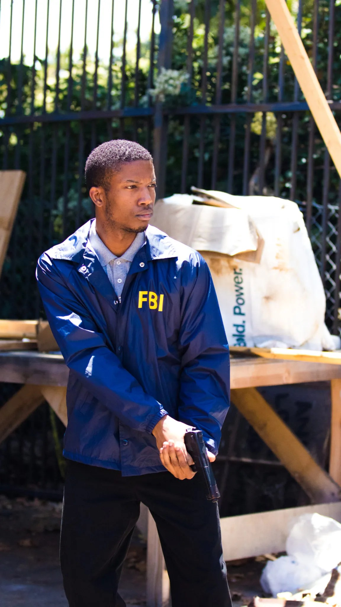 FBI Jacket Costume For Film