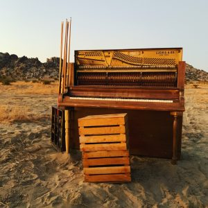 LA Desert Ranch - Desert Piano Set