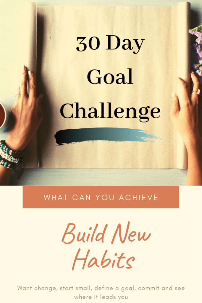 30-day goal challenge