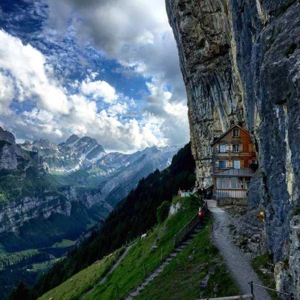 Berggasthaus AescherBerggasthaus Aescher thrifty traveler