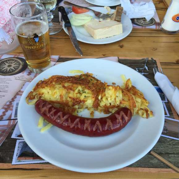 Rosti and Sausage
