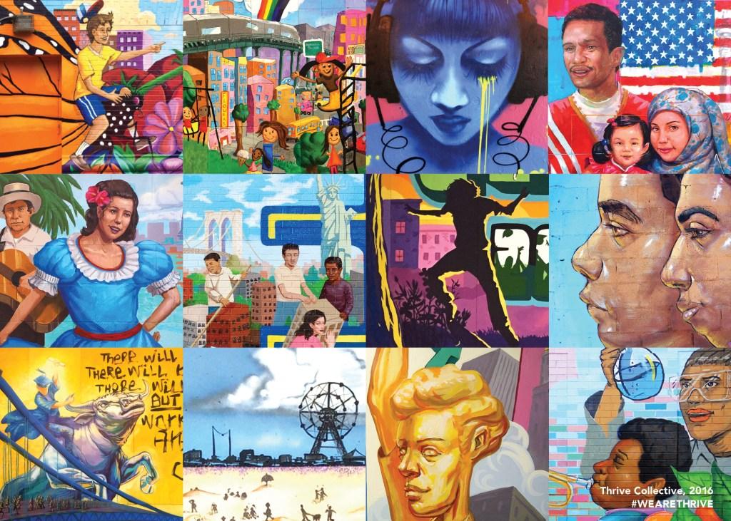 5x7 mural postcard