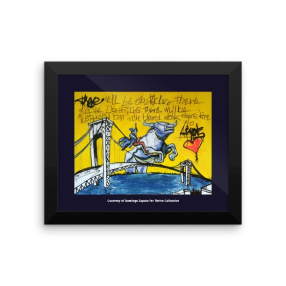 No Limits by Artist Domingo Zapata – FRAMED POSTER