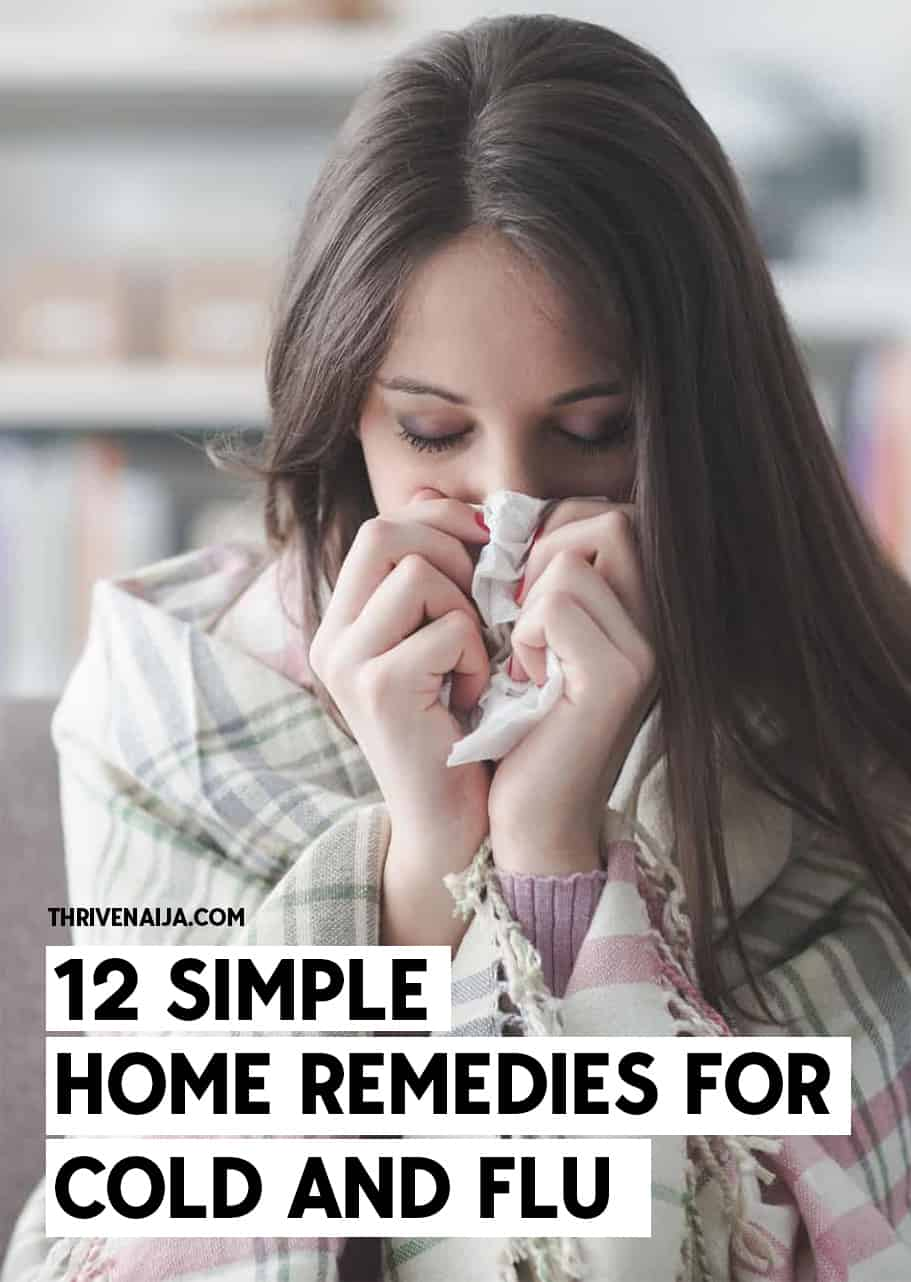 12 Simple Home Remedies for Cold And Flu