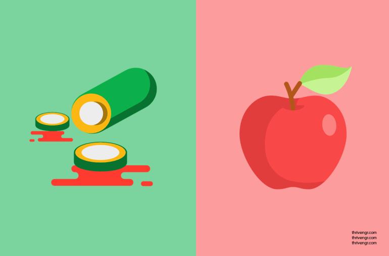 Cucumber + Apple Cider Vinegar