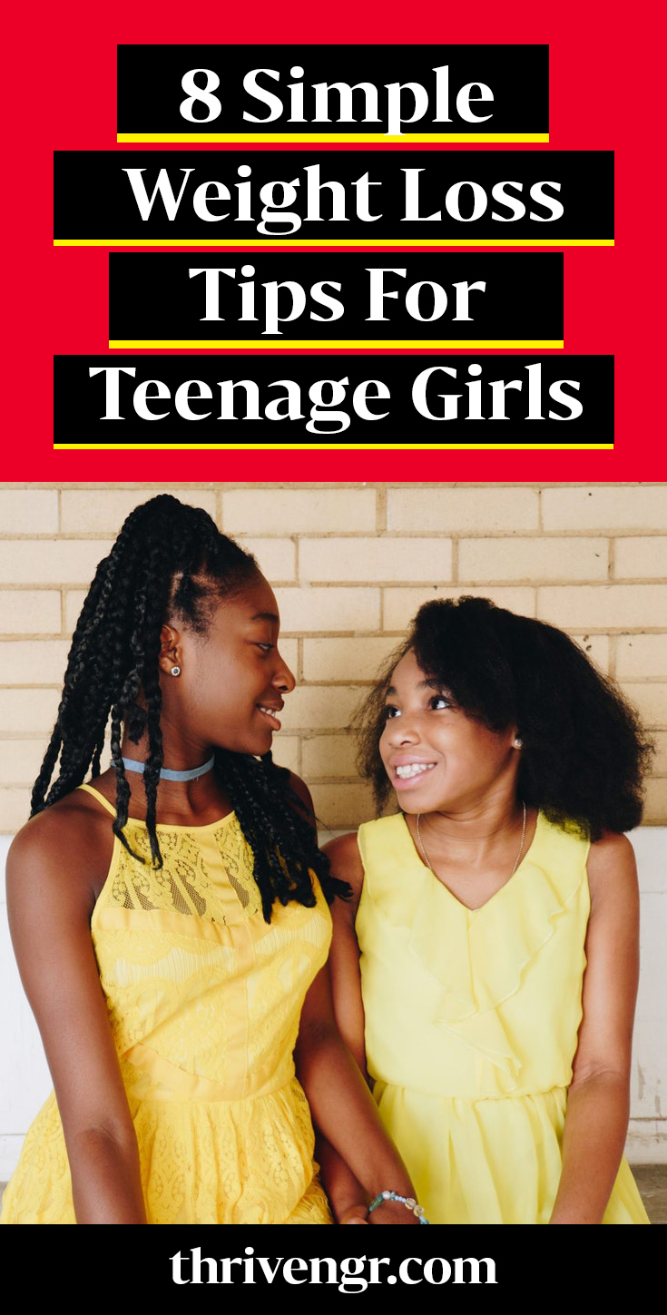 Simple weight loss tips for teenage girls