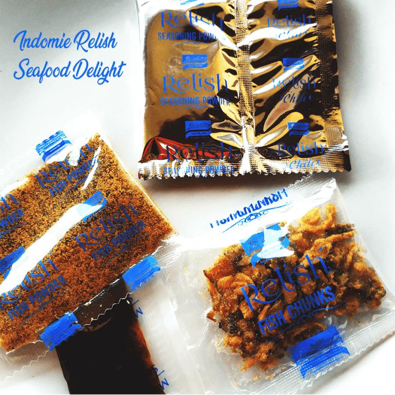 The Relish Seafood Delight seasoning packs