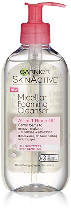Garnier SkinActive Micellar Foaming Face Wash best facial wash for oily skin