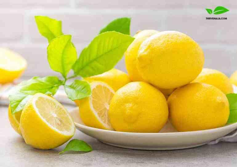 vitamin c lemons