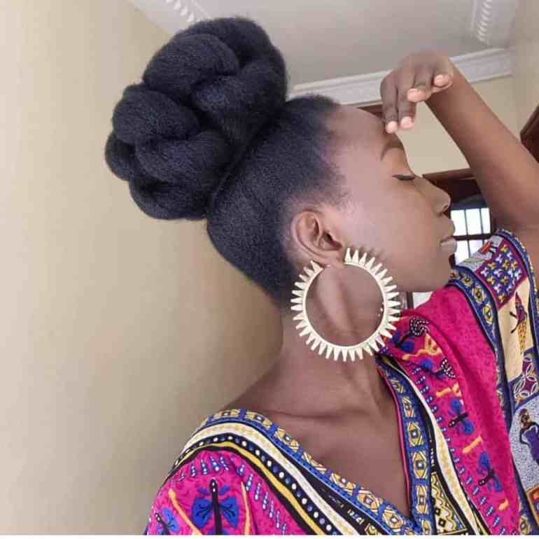 How to style your natural hair